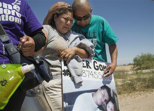 As deportações separaram muitas famílias