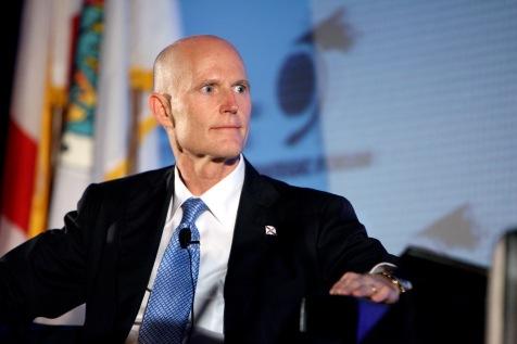 Governador da florida Rick Ccott