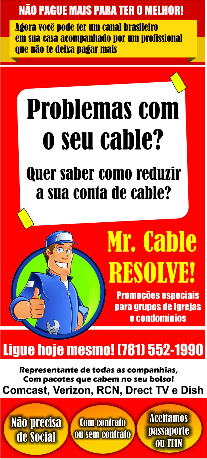 tv por assinatura tom mr cable resolve