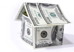 US-Investment-bigstockphoto_House_Made_From_Dollars_On_Whi_3040205