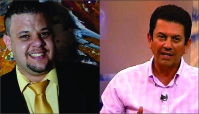 Dario Galvão (e) entrou em contato com o deputado Otavio Leite