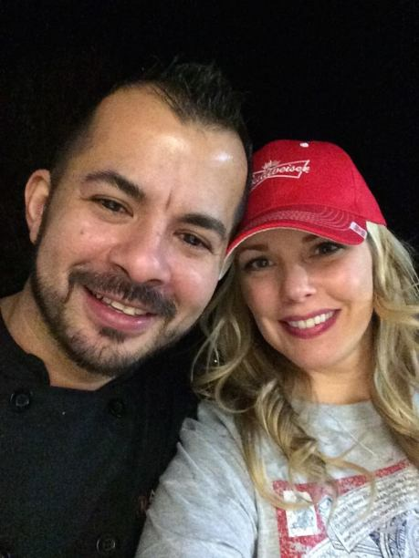 O casal Alex e Jeniffer Lima