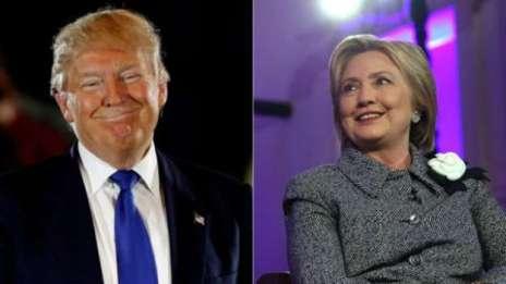 Trump e Hillary estão liderando as primárias de seus partidos