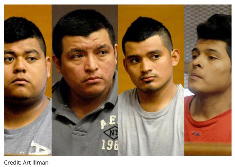 Os quatro imigrantes são da Guatemala